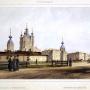 Ф.-В. Перро. Вид Смольного монастыря. 1841 год. Источник: wikipedia.org