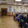 А.А. Чибилёв открывает фотовыставку в актовом зале УрГПУ