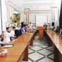 Зарипат Магомедова приветствует гостей. Фото предоставлено Дагестанским отделением РГО