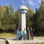 Участники Оренбургско-Свердловской экспедиции на границе Европы и Азии
