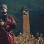 Портрет чеченца. Фото: Абдуллах Берсаев
