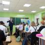 Урок географии в гимназии имени Подольских курсантов. Фото: Алексей Михайлов