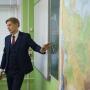 Павел Красновид на уроке. Фото: Алексей Михайлов