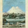 Картина Прапорщика Голикова, участника экспедиции генерала Эммануэля к Эльбрусу 1829 года