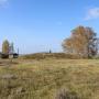 Курган на могильнике Боровянка II. Большереченский район Омской области