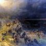 Всемирный потоп. Иван Айвазовский, 1864 г.