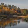 Осень в Окском заповеднике. Фото Татьяны Осиповой. С сайта Окского заповедника
