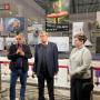 На фото: директор Национального музея «Григоре Антипа» Луис Попа, посол РФ в Румынии Валерий Кузьмин, руководитель Российского центра в Бухаресте Наталья Муженникова