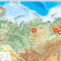 Районы исследования птиц в горах Северной Азии. Фото: пресс-служба геофака МГУ