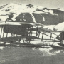 Гидросамолёт Нагурского Farman MF.11 в бухте Крестовая губа на Новой Земле. Источник: wikipedia.org