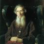 Портрет писателя В. И. Даля. Художник В. Г. Перов