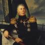 Портрет адмирала И. Ф. Крузенштерна. Неизвестный художник