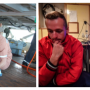 Fig. 13. Preparation of a marine proton magnetometer in the South Atlantic. Reflecting on the results of geophysical surveys I. Grushnikov and M. Kuzyakin