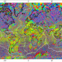 Fig. 2. World Digital Magnetic Anomaly Map. (1:50,000,000, 2007)