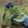 Закладка плодового сада в День охраны окружающей среды
