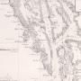 Карта северных проливов северо-восточного берега Америки