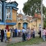 Участники торжественных мероприятий. Фото предоставлено Шадринским местным отделением РГО.