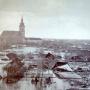 Наводнение на реке Тиса, 1879 год. Фото предоставлено географическим факультетом МГУ