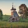Часовня в деревне Глазово, Архангельская область. Фото: Михаил Прохоров