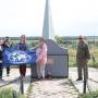 Участники выезда у памятного знака И.Д. Черскому