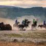 Кок-бору, регби на конях. Республика Алтай (Горный Алтай). Фото: Александр Пермяков
