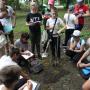 Мастер класс отработке навыков полевых почвенных исследований под руководством Александра Николаевича Рудыка (Крымский федеральный университет)