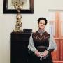 Мария Матвеева в Научном архиве РГО. Фото из личного архива