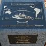 Памятный знак, установленный в Австралии. Фото из личного архива Фёдора Конюхова