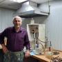 Обжиров А.И. извлекает газа из воды и осадков на дегазационной установке методом вакуумной дегазации