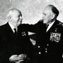 Иван Папанин и Сергей Горшков. Съезд 1970 года. Фото: Научный архив РГО