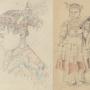 Мальчик с острова Тидоре, Молуккские острова. Рисунок Н. Н. Миклухи-Маклая. Научный архив РГО