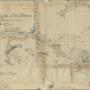 Карта пути из Явы на берег Маклая в Новой Гвинее через Западную Микронезию, составленная Н.Н.Миклухо-Маклаем.  Научный архив РГО