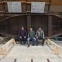 Завершено строительство карбаса для экспедиции РГО.