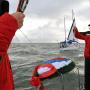 Возложение венков на месте погибших кораблей. Фото: Роберт Талипов