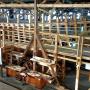 Момент строительства поморского коча. Фото: «Судостроительный кластер Архангельской области»