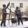 Памятник Константину Циолковскому и Сергею Королёву «Связь времён». Фото: ru.depositphotos.com