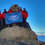 Участники экспедиции РГО на горе Чернышева. Фото Александра Бреева