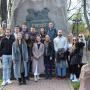 Участники сербской делегации во время экскурсии с Михаилом Гойдиным. Фото предоставлено Смоленским региональным отделением